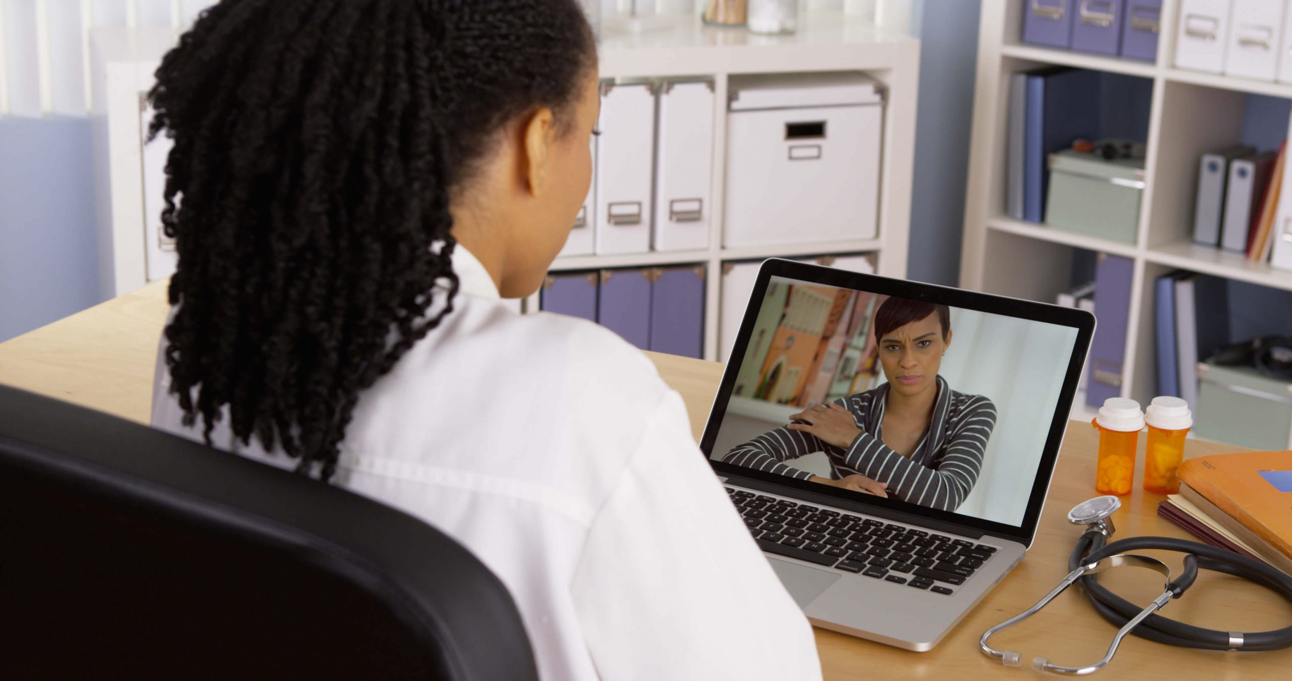 Development of a video and health data platform