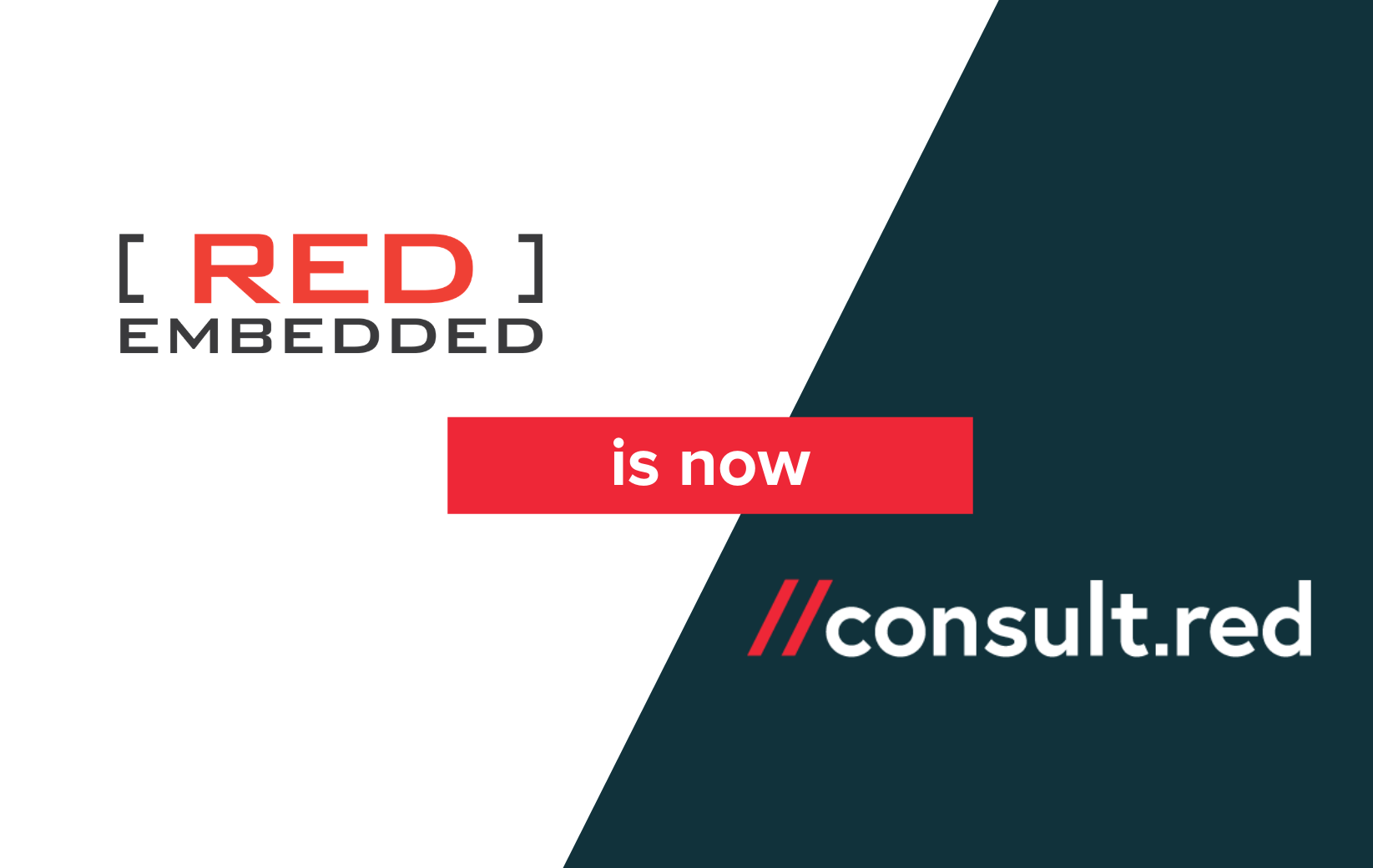 Red Embedded announces rebrand to Consult Red