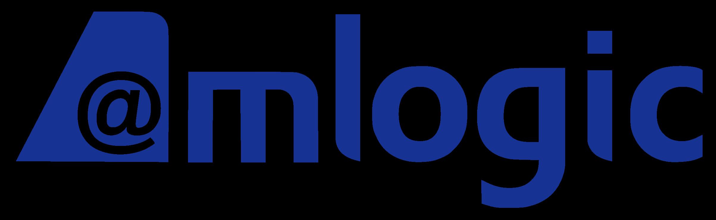 Blue Amlogic Logo