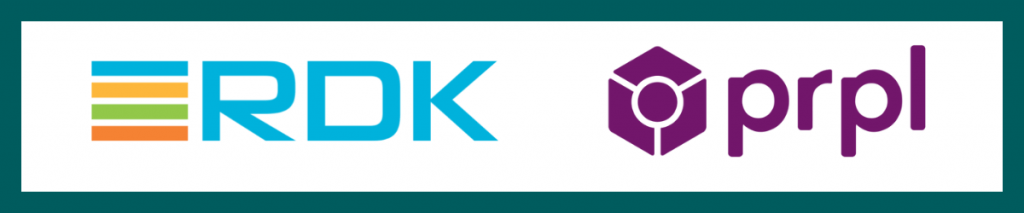 rdk and prpl logos banner